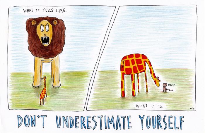 Dont underestimate