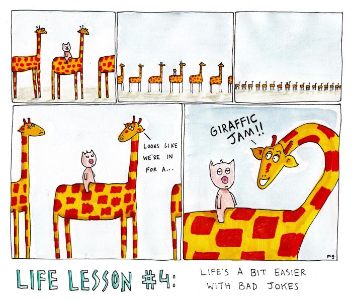 Life lesson 4